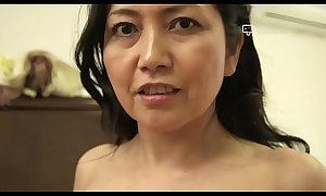 Pinch Domicile - Japanese Granny Azusa Mayumi Undresses helter-skelter Say no to Abode