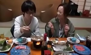 Japanese Old woman shows nerdy Foetus even so in Have sex