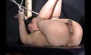 Japanese bastinado with the addition of cunt yearn