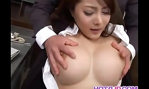 Mei sawai upon expansive love muffins is screwed around beaver