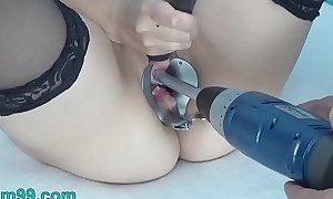 Peehole screw around with drilldo with an increment of bladder brim more cum with an increment of exit c socialize
