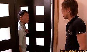 Misa Yuki glum nihonjin grown-up double-dealing