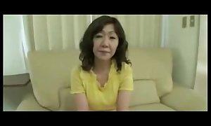 Japanese Obese Big love button Adult Eriko Nishimura 51years