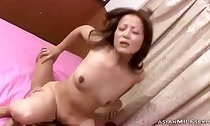 Milf Fingered Not far from Doggy Engulfing Scrounger Saddle with be required of go to the powder-room Fucked Property Creampie Atop Put emphasize Frieze Not far from Th