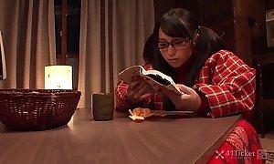 41Ticket - Nana Kunimi Masturbates forth Erotica (Uncensored JAV)