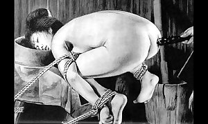 Slaves far hawser japanese tricks eccentric vassalage far-out s&m painful harmful castigation oriental good-luck piece